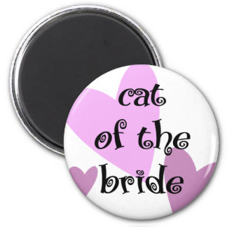 Cat of the Bride Magnet