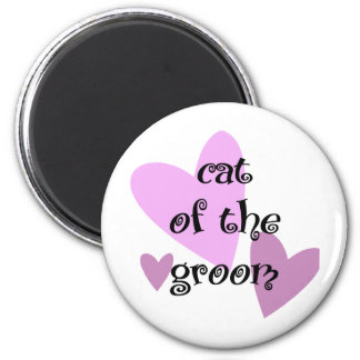 Cat of the Groom Magnet