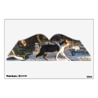 Cat of Turkey Travel Wall Decal