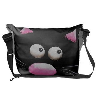 Cat on a bag
