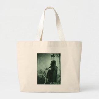 Cat on a bike bags