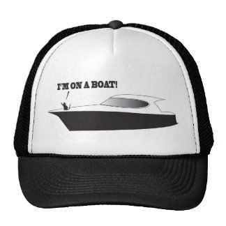 Cat on a Boat hat