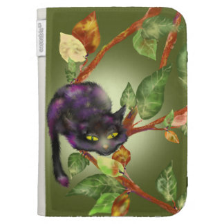 Cat on a branch kindle 3 case