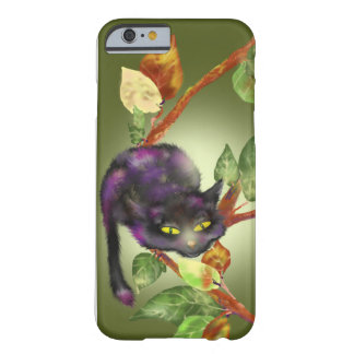 Cat on a branch barely there iPhone 6 case