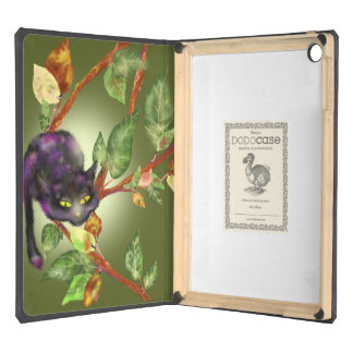 Cat on a branch iPad air cover