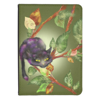 Cat on a branch kindle touch cover