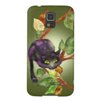 Cat on a branch galaxy s5 covers