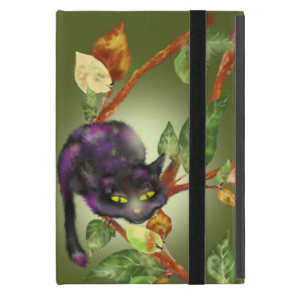 Cat on a branch cover for iPad mini