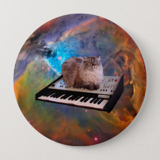 Cat on a Keyboard in Space Button