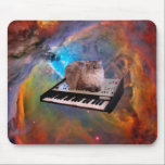 """Cat on a Keyboard in Space Mouse Pad<br><div class=""""desc"""">Cat on a Keyboard in Space &quot;keyboard cat&quot;, &quot;piano cat&quot;, &quot;cat on keyboard&quot;, &quot;Space Cat Keyboard&quot;, &quot;cosmic cat&quot;, &quot;meme cat&quot;, cat, meme, galaxy, &quot;space cat&quot;, cats, cool, space, cosmos, kittens, cute, grey, eyes, kitty, supernova, universe, nebula, gray, kitten, &quot;blue eyes&quot;, feline, &quot;into space&quot;, &quot;in space&quot;, &quot;cat galaxy&quot;, &quot;cat with blue...</div>"""