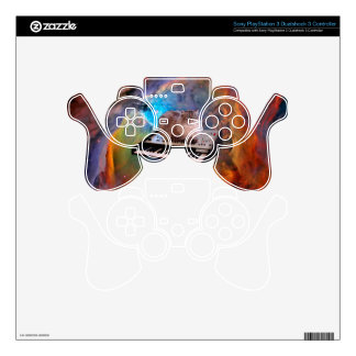 Cat on a Keyboard in Space PS3 Controller Skins