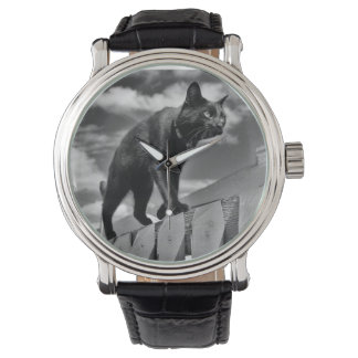 Cat on a Mission Wristwatches