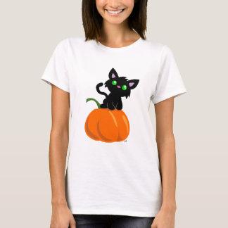 Cat on a Pumpkin T-Shirt