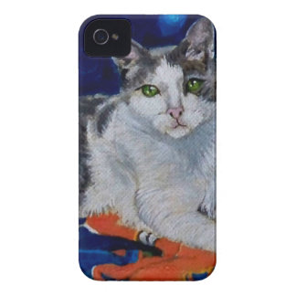 Cat on a Quilt iPhone 4 Cover