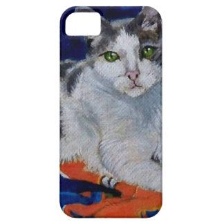 Cat on a Quilt iPhone SE/5/5s Case