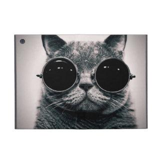 Cat on a secret mission iPad mini case