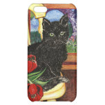 Cat on Chair Case For iPhone 5C