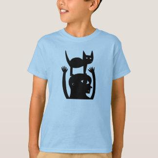 Cat On My Head T-Shirt