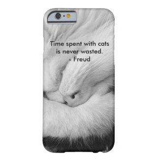 Cat on Phones Barely There iPhone 6 Case