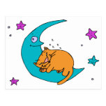 Cat On the Moon Postcards