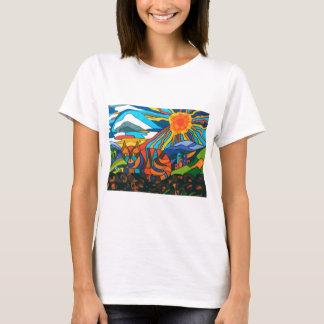 cat on the wall T-Shirt