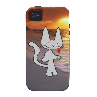Cat On Valentine s Day Vibe iPhone 4 Covers