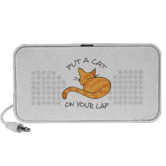 CAT ON YOUR LAP LAPTOP SPEAKERS