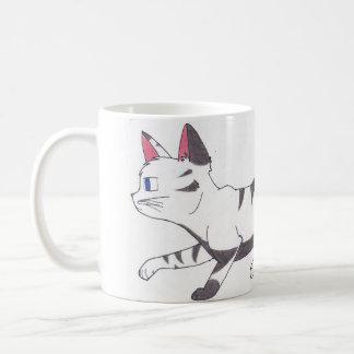 Cat one has mug - cat hunting
