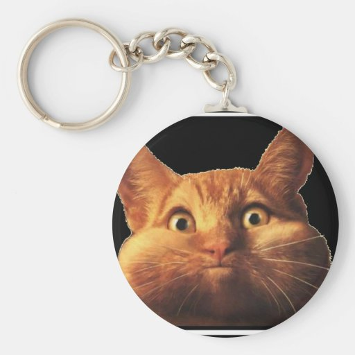 CAT OOPS KEY CHAIN