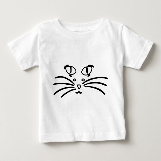 Cat or Mouse Optical Illusion Baby T-Shirt