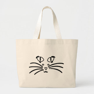 Cat or Mouse Optical Illusion Bag