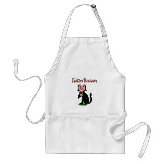 Cat or Pig? Fakin' Bacon Adult Apron