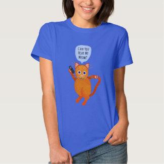 Cat Orange Tabby Cute Pun Cartoon T-Shirt
