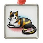 Cat Ornament - Calico