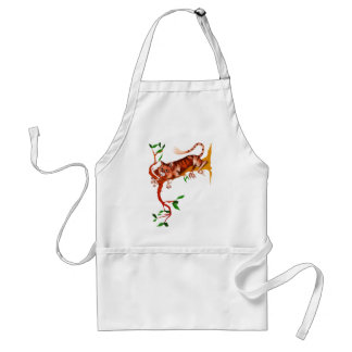 Cat Out On A limb Apron
