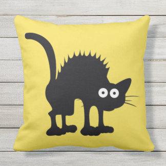 cat outdoor pillow