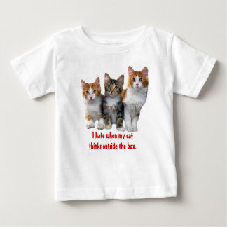Cat Outside The Box Toddler Unisex T-Shirt