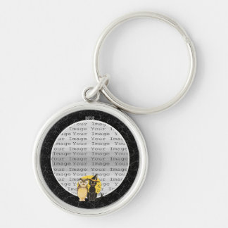 Cat & Owl Halloween Wedding Key Chain
