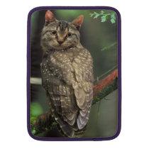 Cat Owl MacBook Sleeve