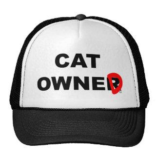 Cat Owner... er, Owned Trucker Hat