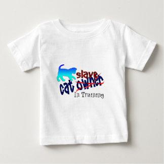 Cat Owner Slave Infant T-shirt