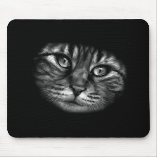 Cat Painting Mouse Pad