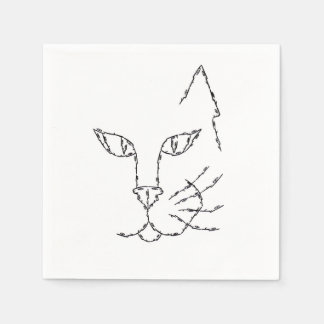 CAT DISPOSABLE NAPKIN