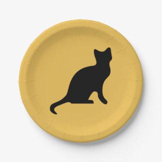 Cat Paper Plate