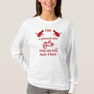 Cat Parent Ladies Long Sleeve Shirt
