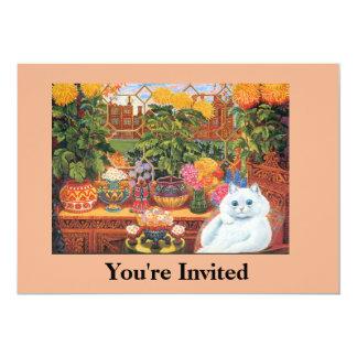 Cat Party Invitation