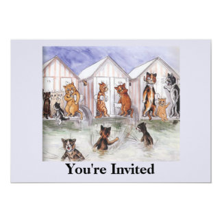 Cat Party Invitation