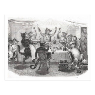 Cat Party Post Card