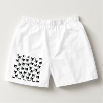Cat pattern boxers