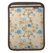 Cat Pattern (brown) Sleeve For iPads